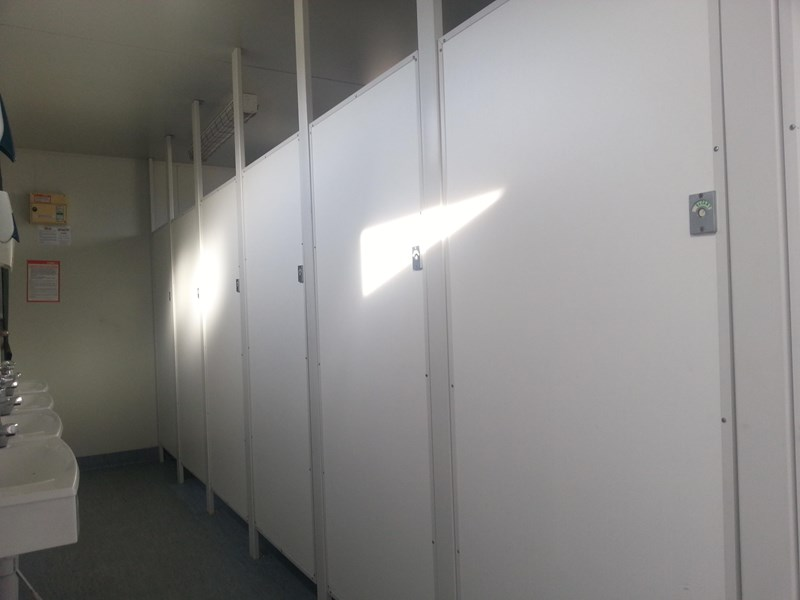 e i group portables used 6m x 2.5m ablution building 422237 004