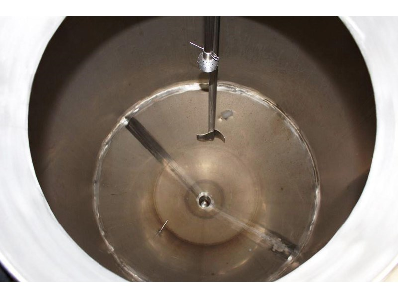 stainless steel mixing tank vertical 422536 005