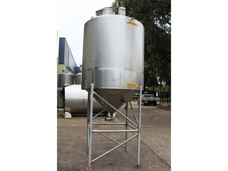 stainless steel mixing tank 3,000lt 422545 001