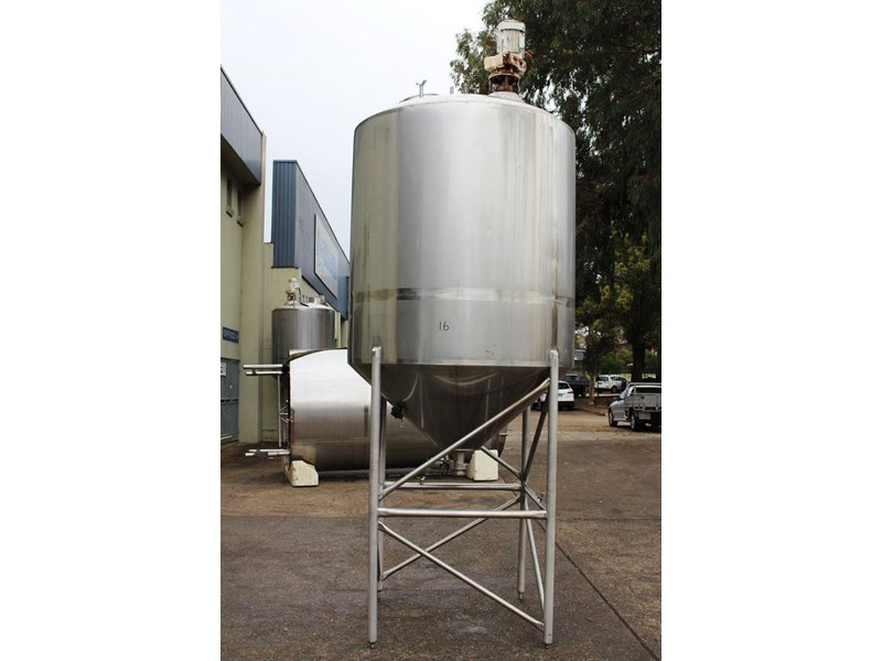 stainless steel mixing tank 3,000lt 422546 001