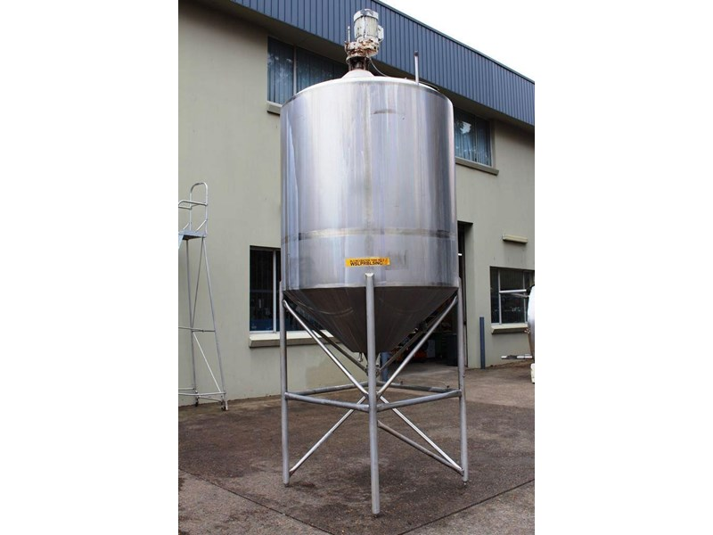 stainless steel mixing tank 3,000lt 422555 003