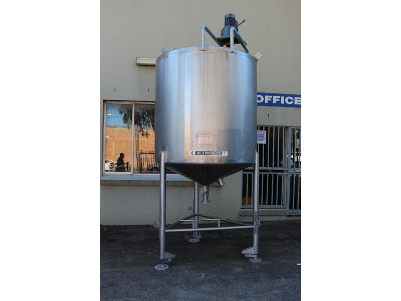 stainless steel mixing tank vertical 422569 001