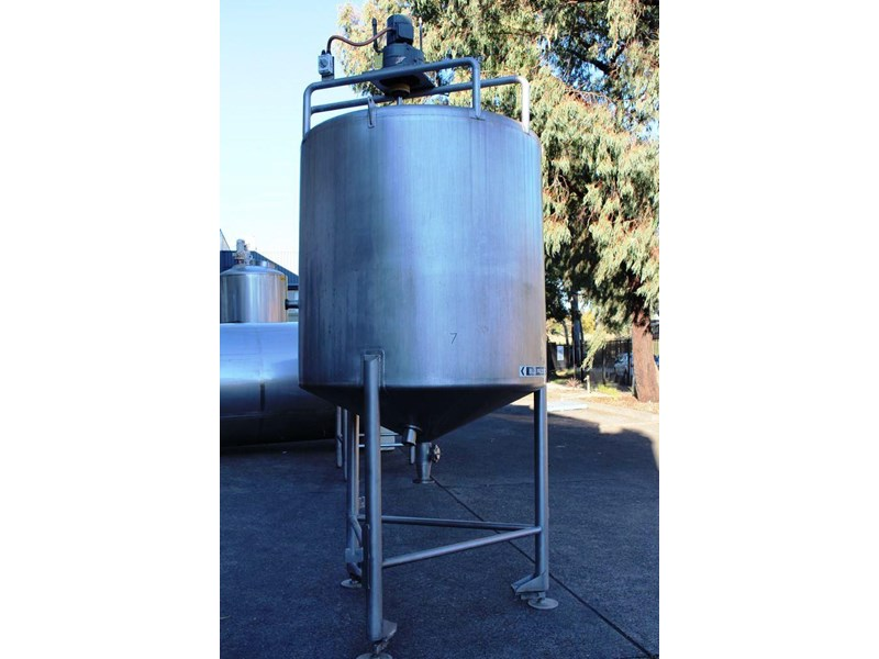 stainless steel mixing tank vertical 422572 001