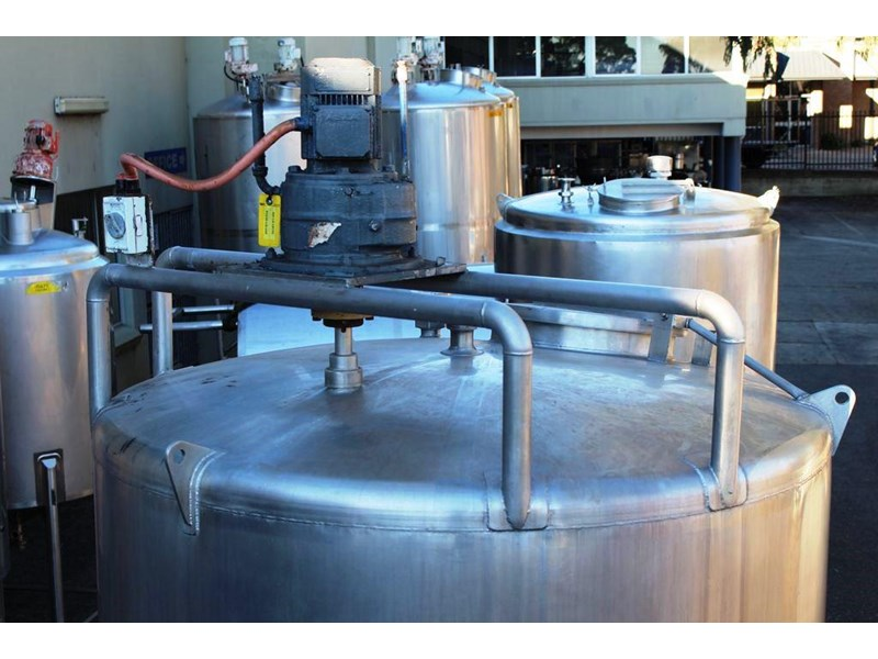 stainless steel mixing tank vertical 422572 004