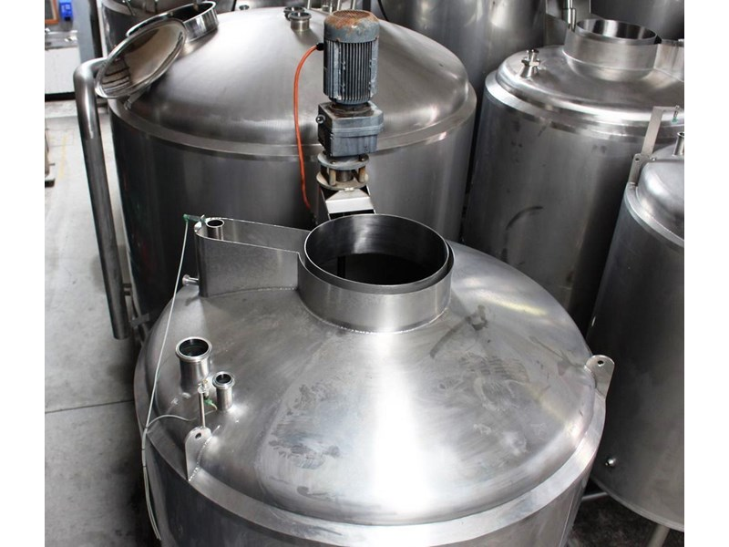 stainless steel jacketed mixing tank vertical 422582 004