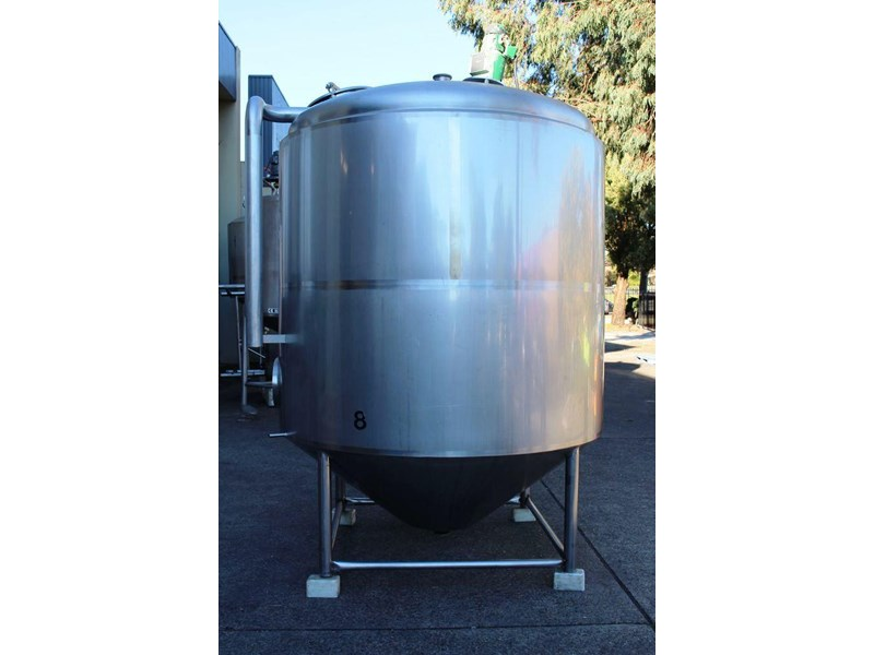 stainless steel mixing tank 6,500lt 422591 001