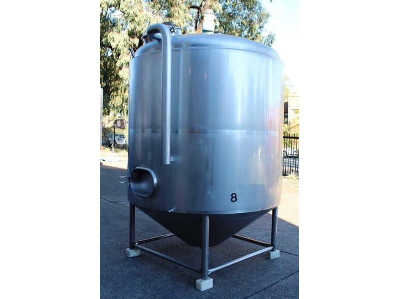 stainless steel mixing tank 6,500lt 422591 002