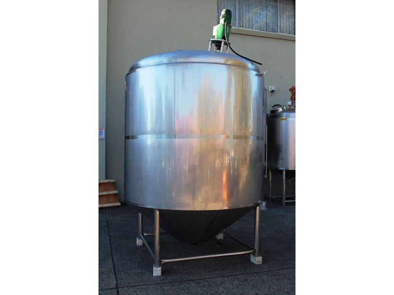 stainless steel mixing tank 6,500lt 422591 003