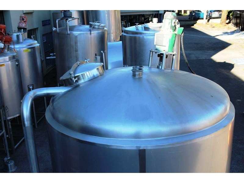 stainless steel mixing tank 6,500lt 422591 004
