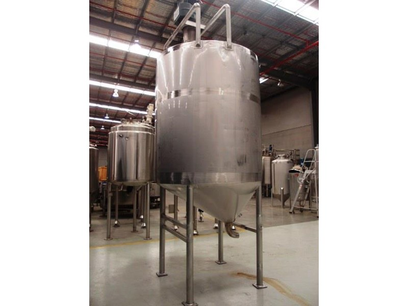 stainless steel mixing tank 4,000lt 419903 002