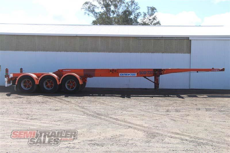southern cross 40ft skel semi trailer with 3 way pins 422769 001