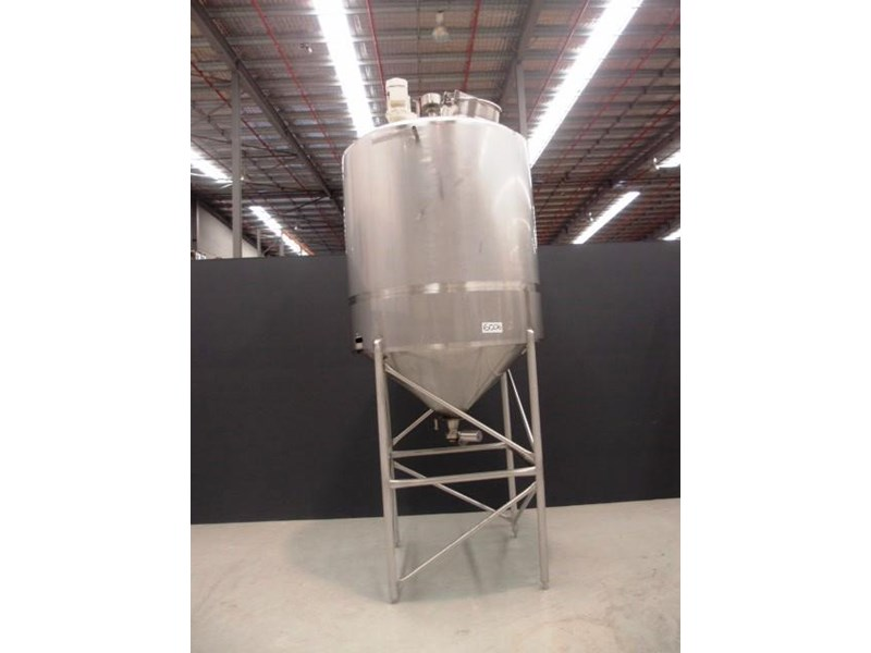 stainless steel mixing tank 3,000lt 419871 006