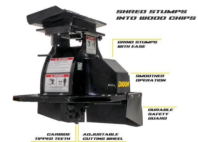 digga mini stump grinder 423174 001
