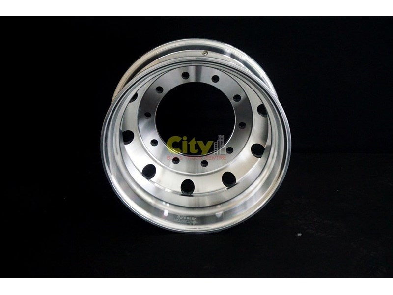 rims 10/335 8.25x22.5 machined alloy rim 424102 005