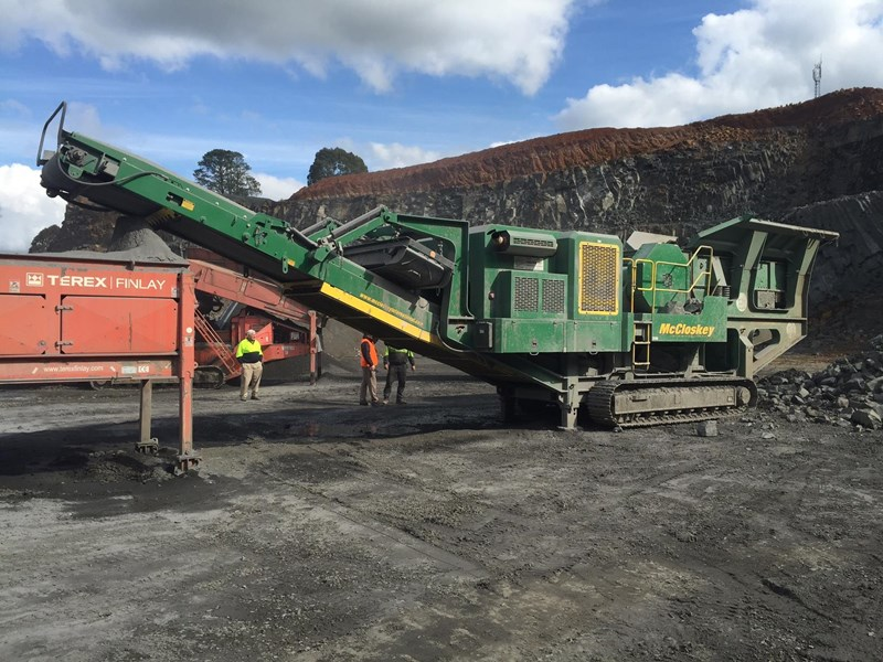 mccloskey j50t jaw crusher 417288 002