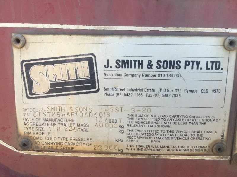 j smith & sons tipping blower skeletal trailer 424751 007