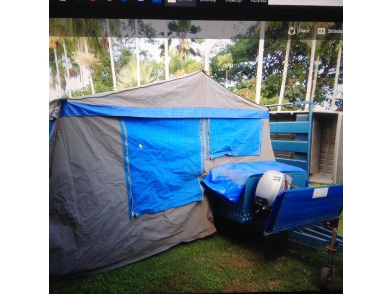custom made true blue camping trailer 425671 002