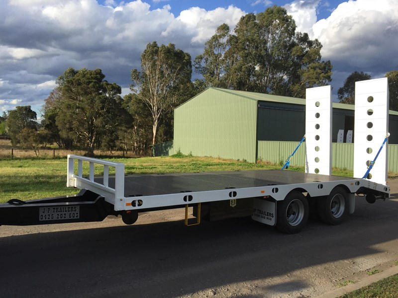 jp trailers mini tandem axel plant trailer 425292 009