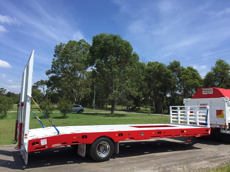 jp trailers red single axel plant trailer 425295 001