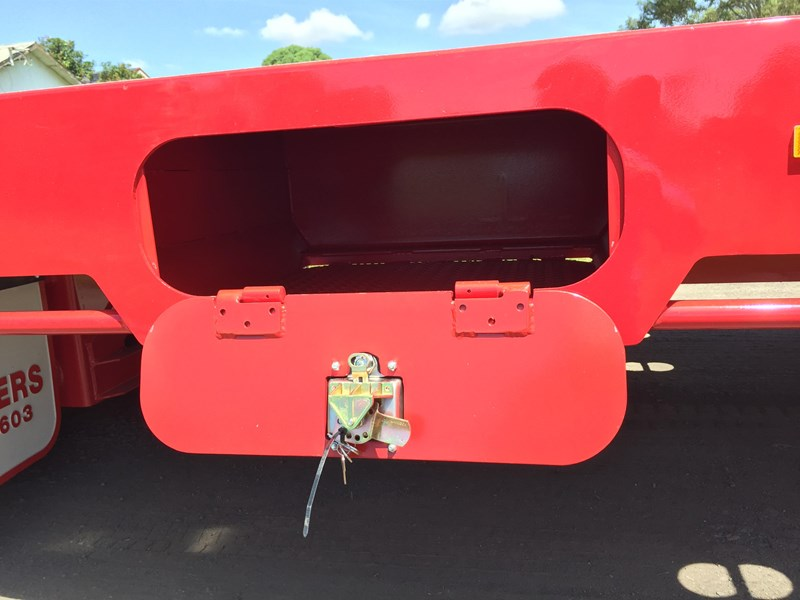 jp trailers red single axel plant trailer 425295 004