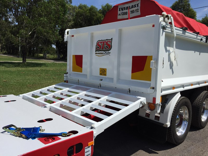 jp trailers red single axel plant trailer 425295 007