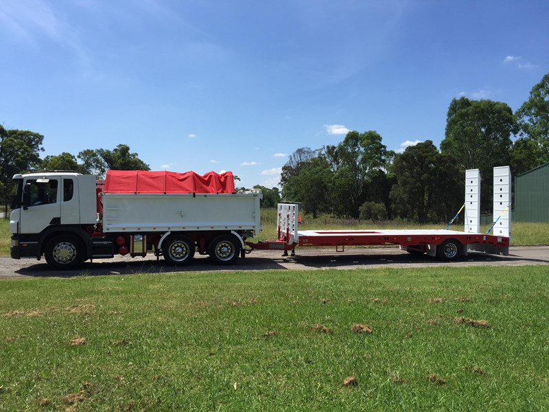 jp trailers red single axel plant trailer 425295 013