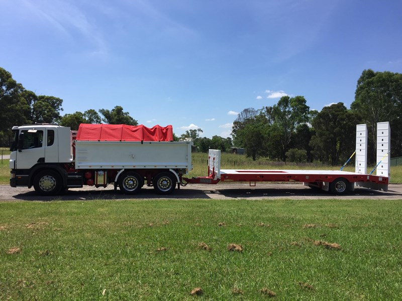 jp trailers red single axel plant trailer 425295 014
