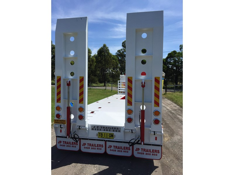 jp trailers red single axel plant trailer 425295 018