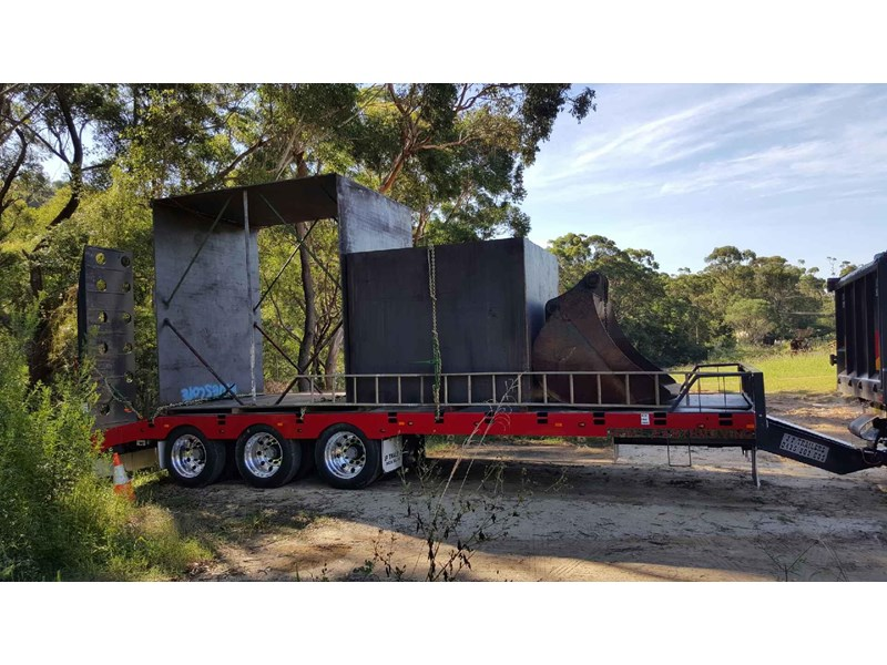 jp trailers tri axel plant trailer 425334 002