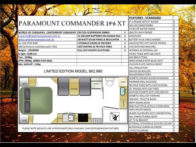 paramount commander xt semi off road 425925 002