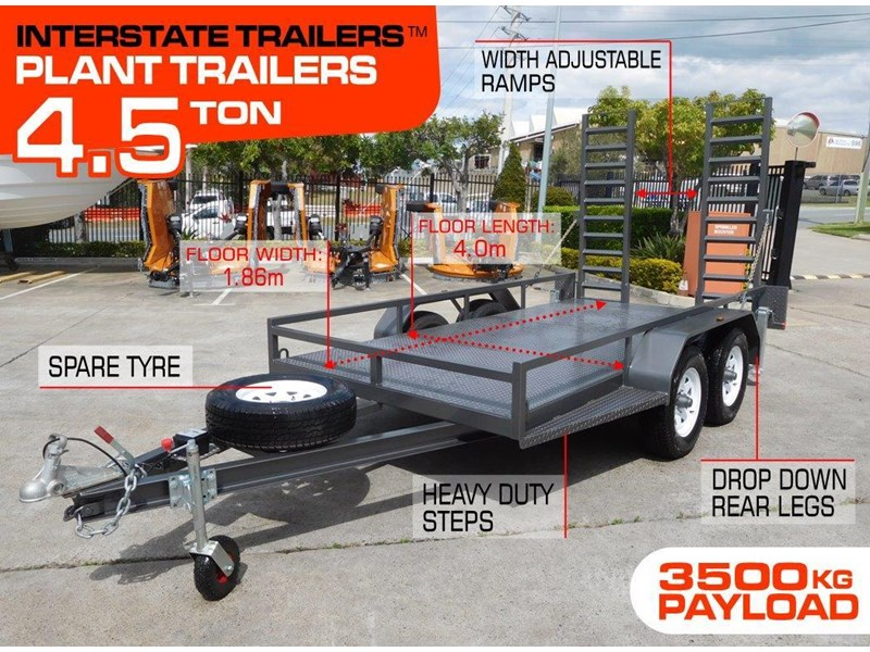 interstate trailers 4.5 ton plant trailer 236246 002