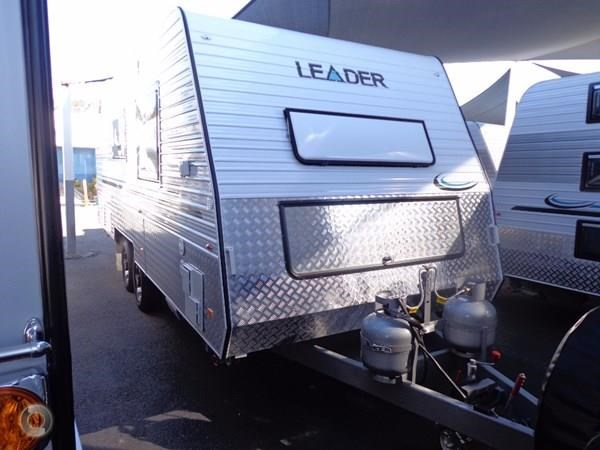 leader caravans gold 19 tandem ensuite independent suspension 427191 002