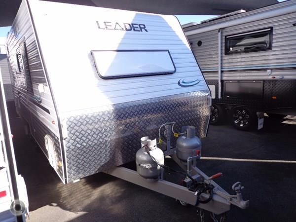 leader caravans gold 18' tandem axle ensuite 427720 002