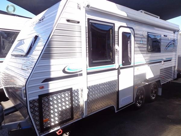 leader caravans gold 18' tandem axle ensuite 427720 001