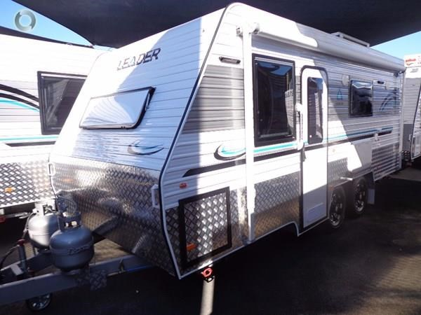 leader caravans gold 18' tandem axle ensuite 427720 004