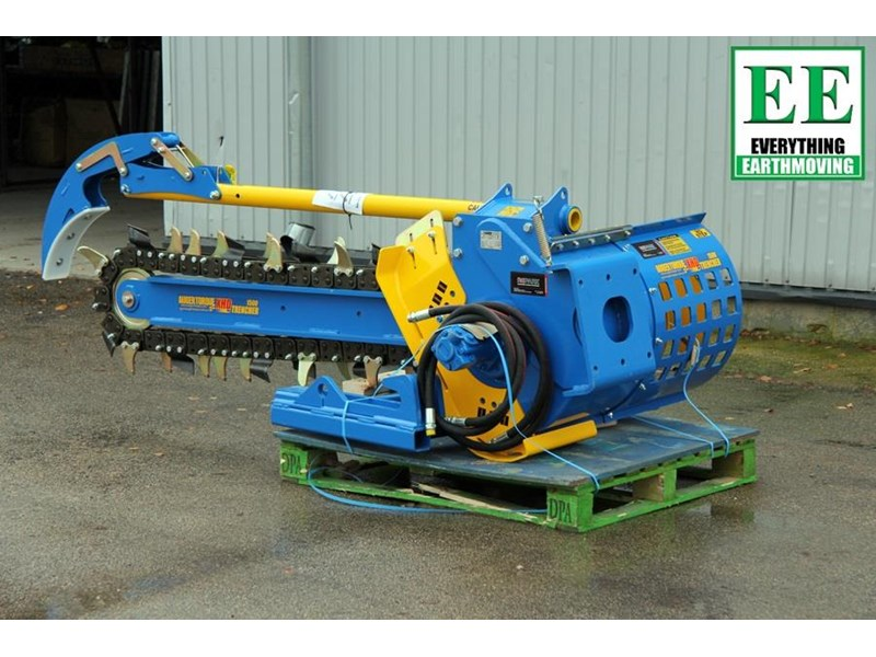 auger torque trenchers // excavators 5t to 10t, high flow skidsteer loaders and backhoes 429385 011