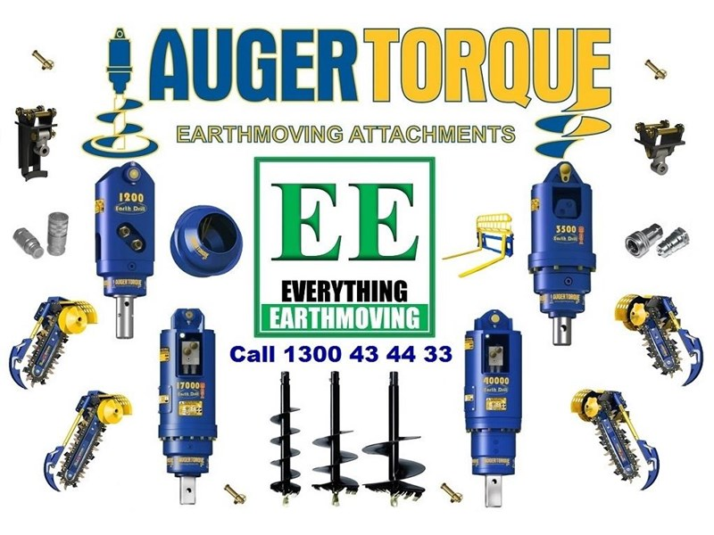 auger torque trenchers // excavators 5t to 10t, high flow skidsteer loaders and backhoes 429385 020