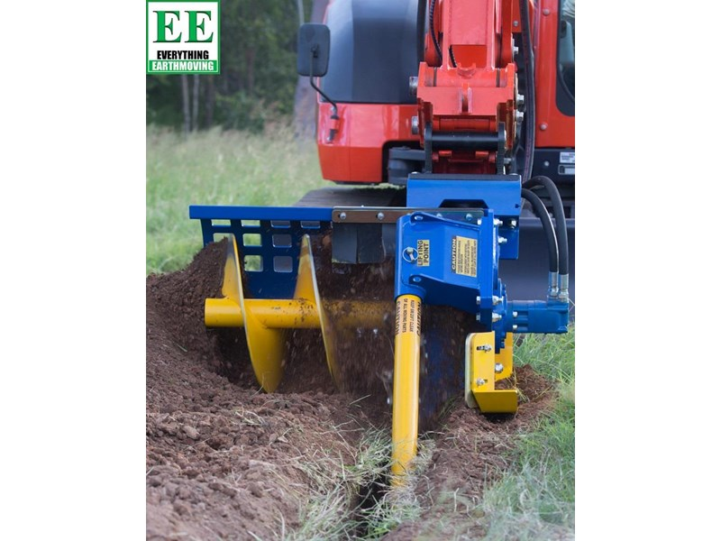 auger torque trenchers // excavators 5t to 10t, high flow skidsteer loaders and backhoes 429552 003