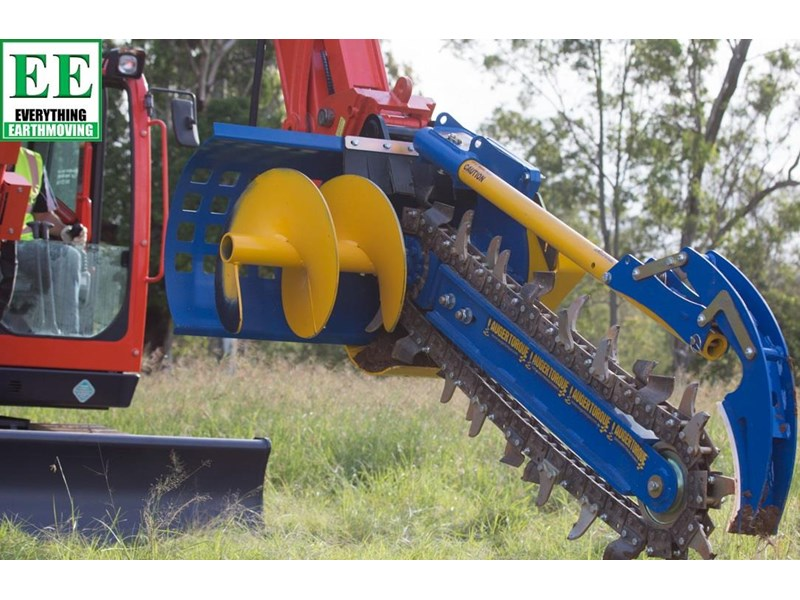 auger torque trenchers // excavators 5t to 10t, high flow skidsteer loaders and backhoes 429552 004