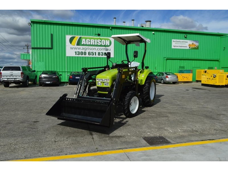 agrison 55hp ultra g3 + rops + 6ft slasher + front end loader (fel) + 4in1 bucket 429472 001