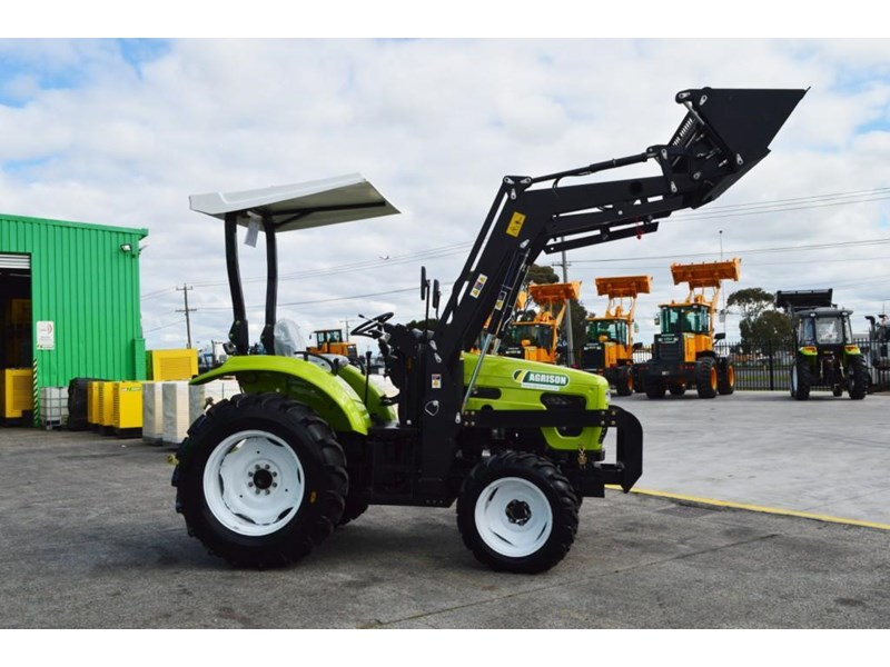 agrison 55hp ultra g3 + rops + 6ft slasher + front end loader (fel) + 4in1 bucket 429472 007