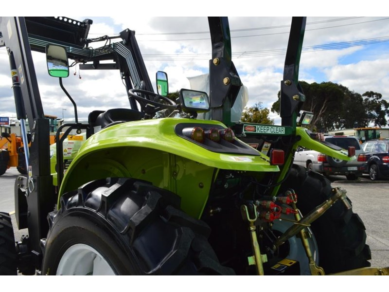 agrison 55hp ultra g3 + rops + 6ft slasher + front end loader (fel) + 4in1 bucket 429472 016