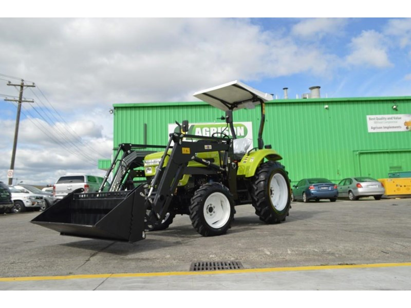 agrison 55hp ultra g3 + rops + 6ft slasher + front end loader (fel) + 4in1 bucket 429472 025