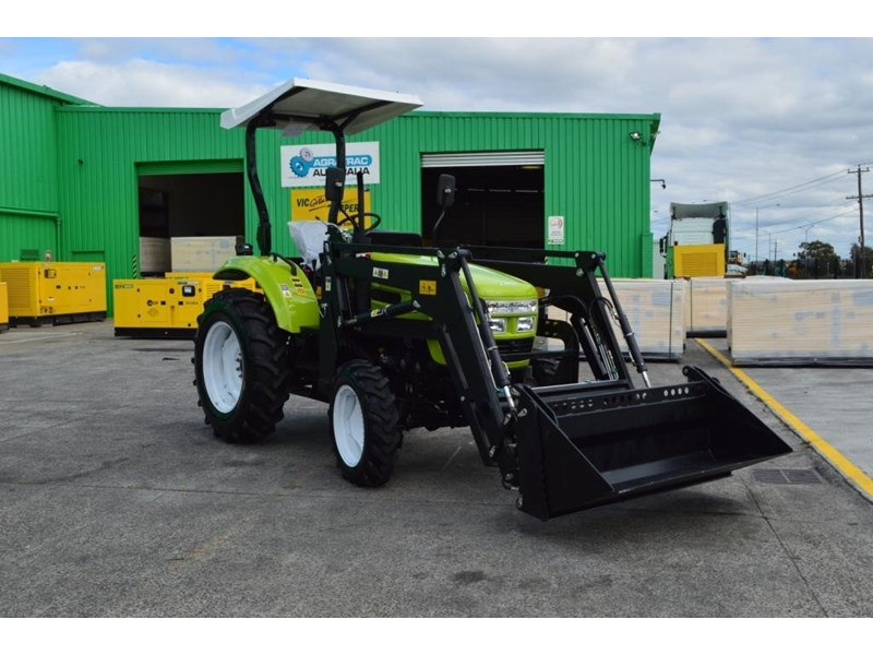 agrison 55hp ultra g3 + rops + 6ft slasher + front end loader (fel) + 4in1 bucket 429472 027