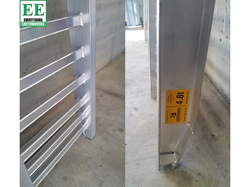 sureweld aluminium loading ramps call everything earthmoving 1300 43 44 33 429553 008
