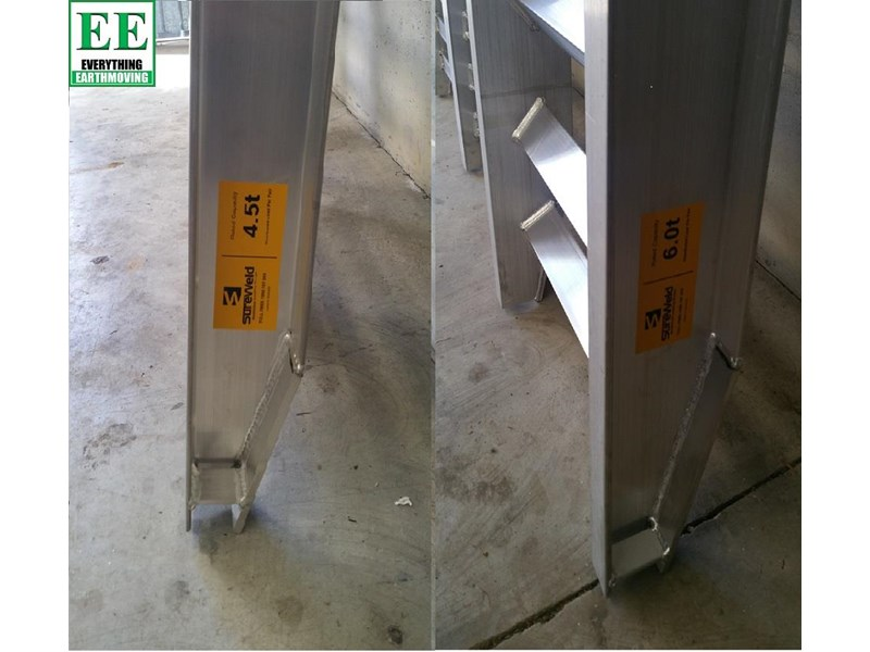 sureweld aluminium loading ramps call everything earthmoving 1300 43 44 33 429553 005