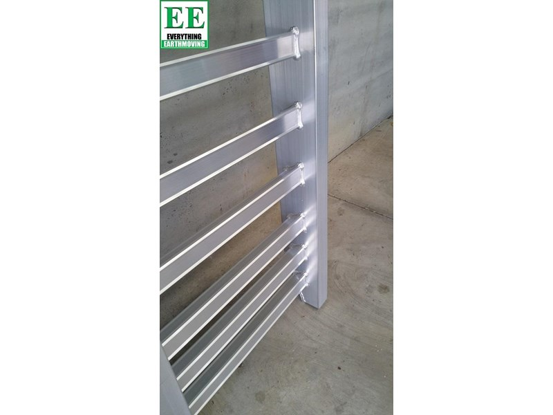 sureweld aluminium loading ramps call everything earthmoving 1300 43 44 33 429553 015