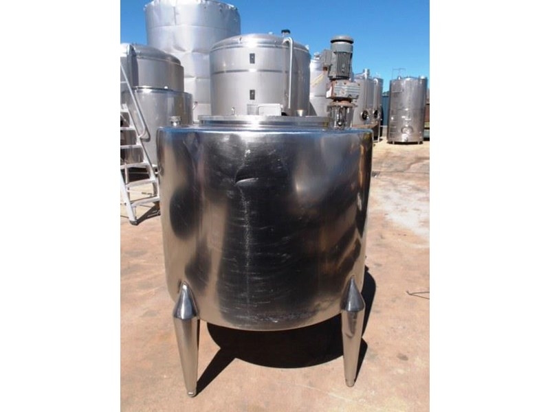 stainless steel mixing tank vertical 429937 002