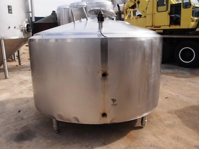 stainless steel jacketed tank 3,000lt 430138 002