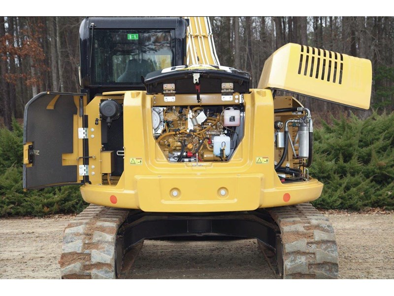 caterpillar #308einc04 308e2.cr 8.4 ton cat 308.e2 steel tracks excavator fitted with rubber pads [unused 7.2 hrs] [machexc] 430252 011